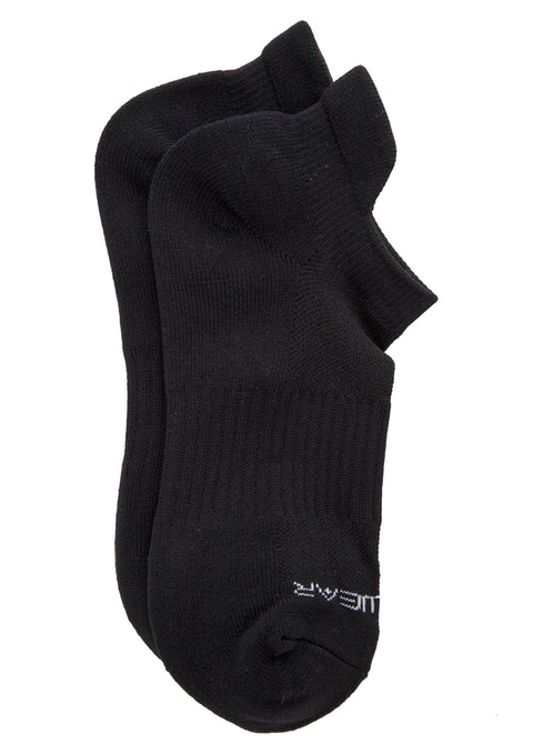 Black Running Socks
