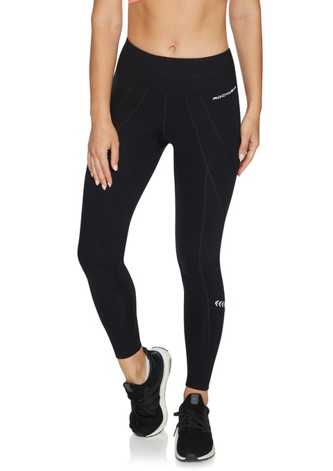 Black Supplex® Kendra Full Length Tights