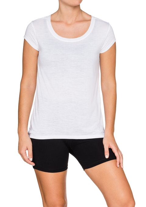 White Mirage Casual Tee