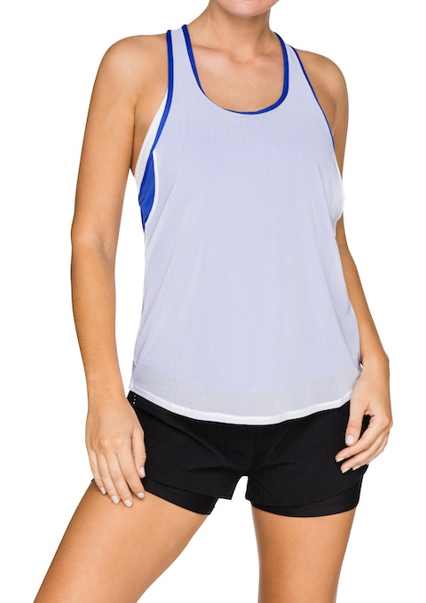 Power Blue Galactic Double Layer Singlet