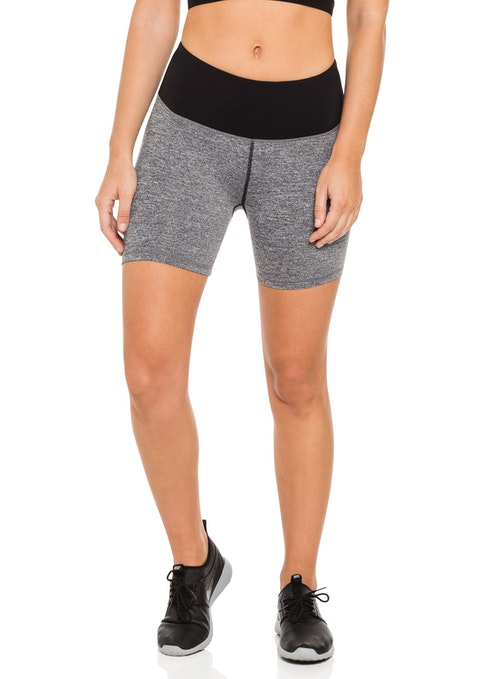 Grey Bt Spacedye Mid Thigh Tight