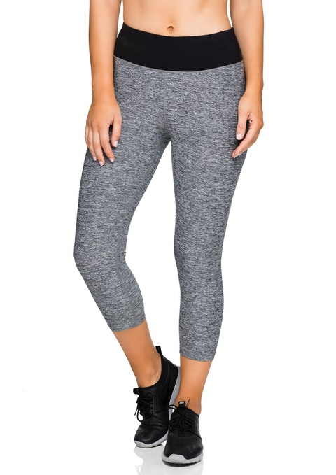 Grey Marle 7/8 Mid Grey Tight