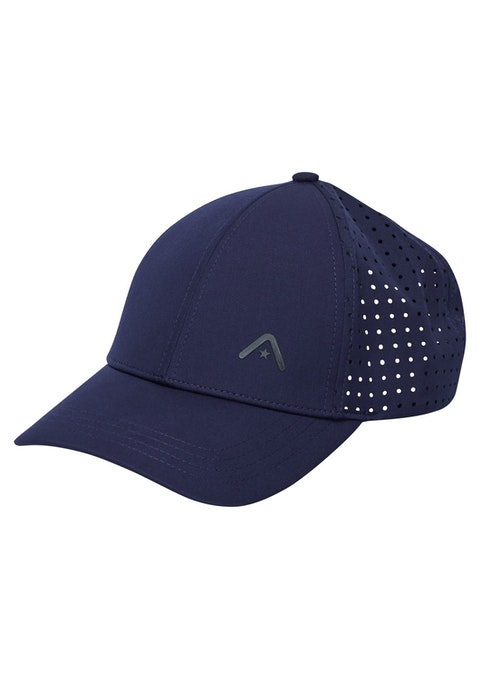 French Navy Perforated 6 Panel Cap