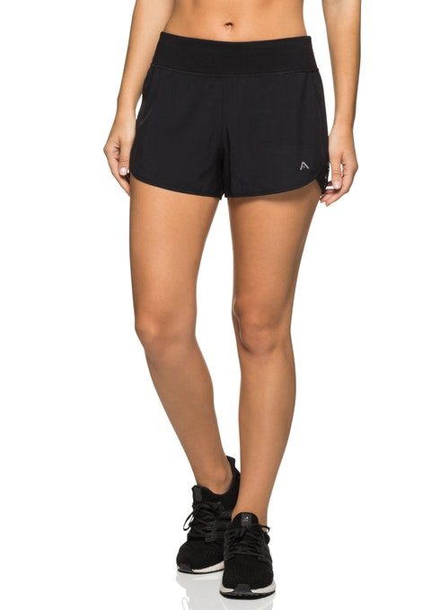 Tribal Tribal Mesh Panel Run Short