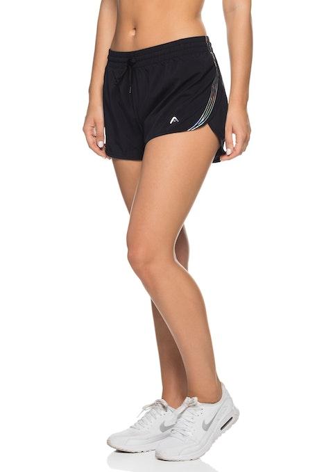 Black Mercury Shimmer Run Short