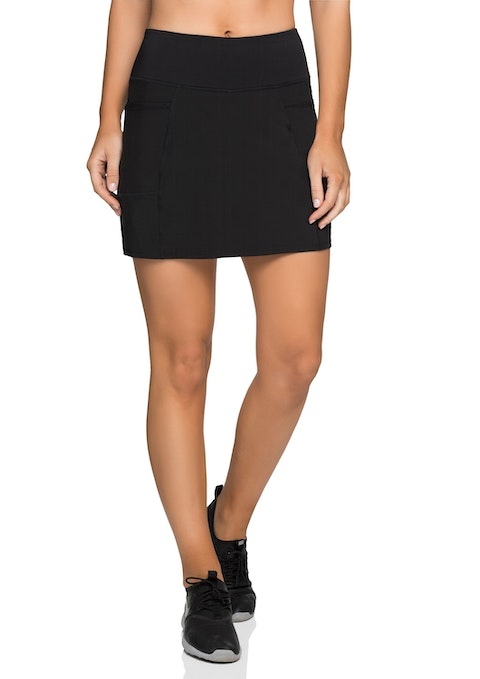 Black Side Pocket Skort