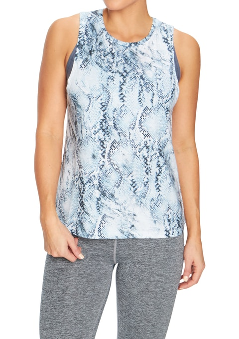 Eden Inversion All Over Printed Tank