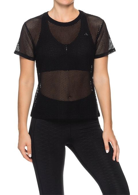 Black Mercury Casual Mesh Tshirt