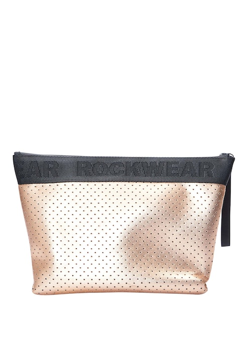 Perf Rose Gold Luxe Cosmetic Bag