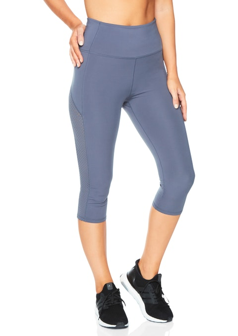 Blue Smoke We 3/4 Ultra High Rise Prism Tight