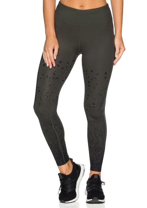 Khaki We Fl Speckle Print Tight
