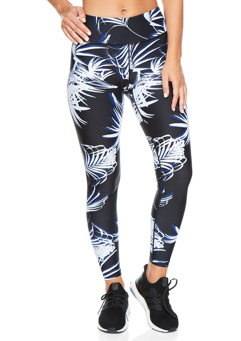 Palm Winj10 Fl Palm Print Tight