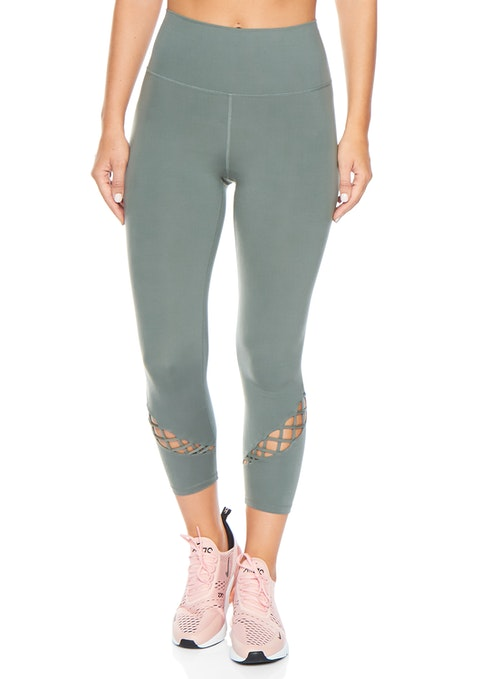 Sage Luxesoft™ Urban Ankle Grazer Tights