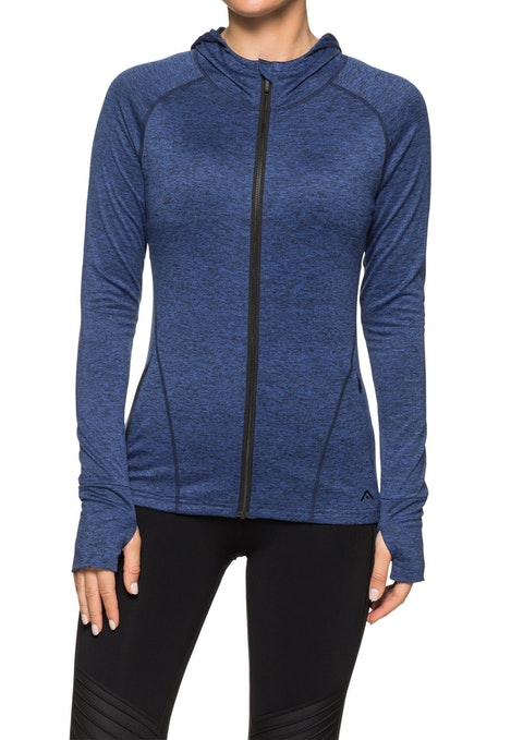 Navy Marle Admire Soft Touch Jacket