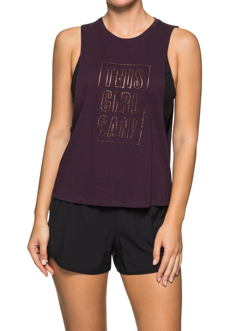 Berry Vision Front Print Tank