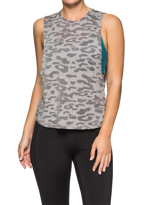 Camo Vision Front Print Tank