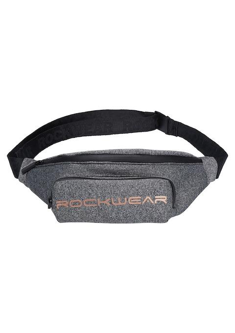 Dark Grey Marle Active Bum Bag