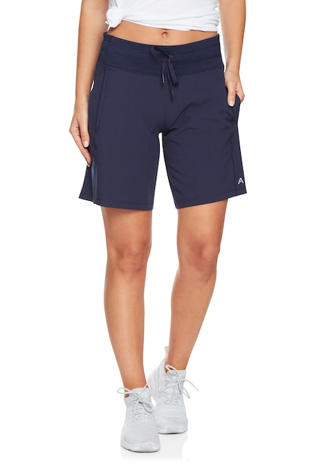 Navy Longline Casual Short