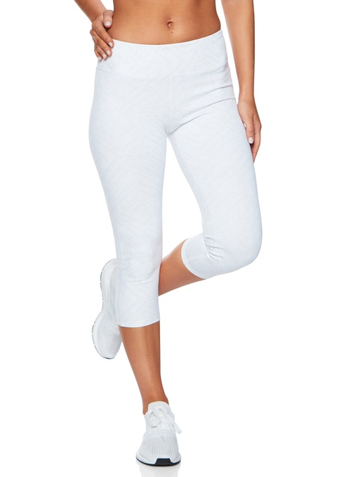 White Geo S18in2 7/8 Geo Print Op Luxe Tight