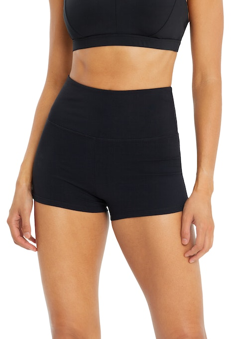 Black Supplex® Ultra High Booty Shorts