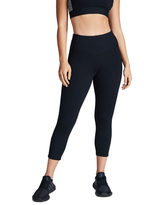 Black Supplex® Pocket 7/8 Tights