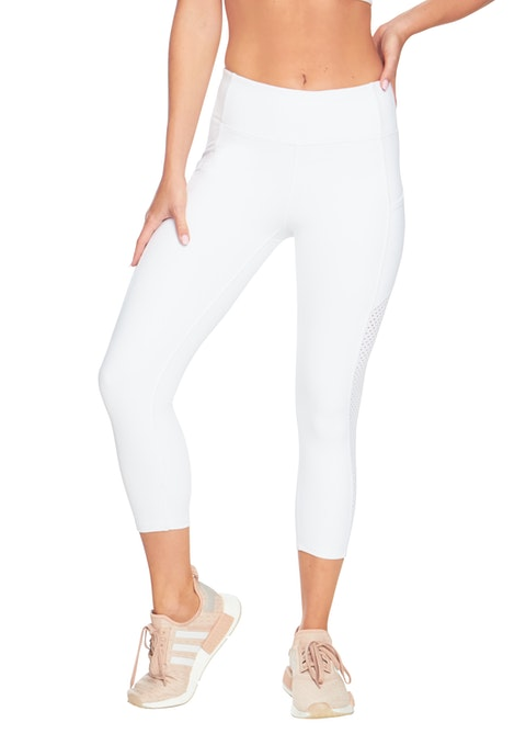 White Essentials 7/8 Pocket Tight