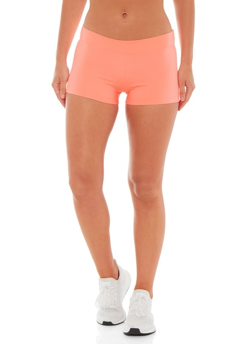 Coral Candice Booty Short