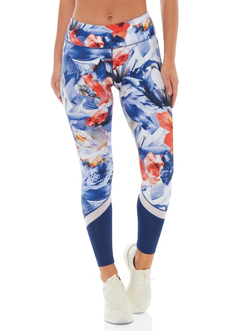 Hibiscus Hibiscus Fl Print Tight