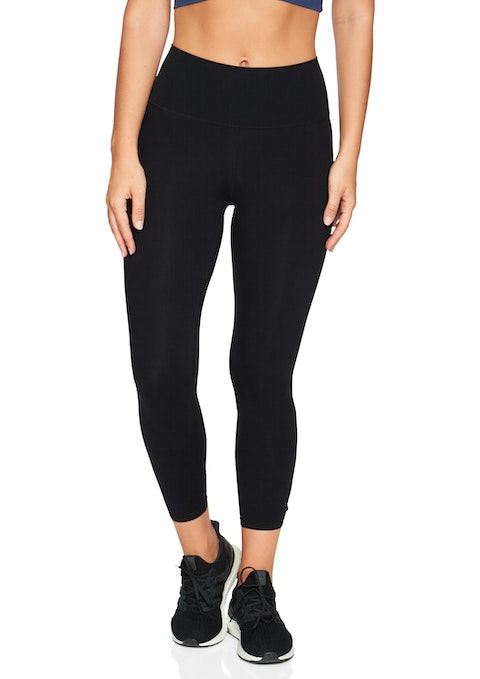 Black Luxesoft™ Ultra High Ankle Grazer Tights