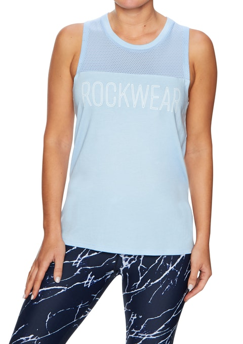 Breeze Tropicana Front Print Tank