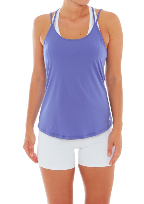 Wisteria Rise Strappy Active Singlet