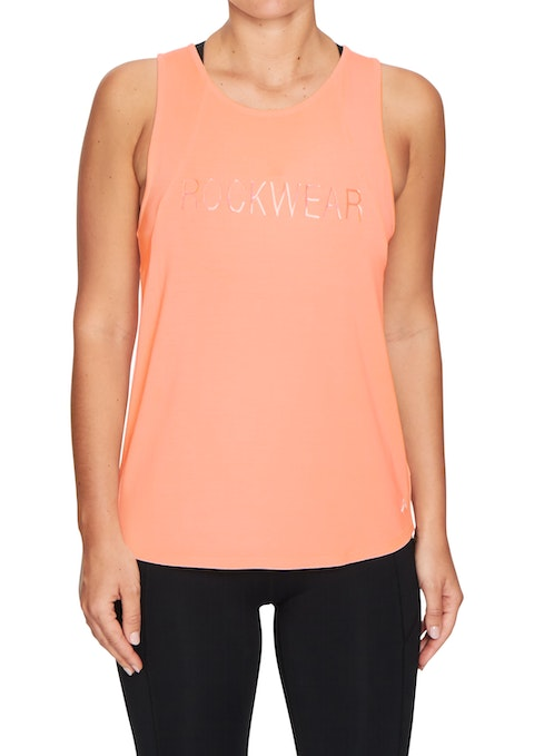 Coral Noosa Strappy Keyhole Tank
