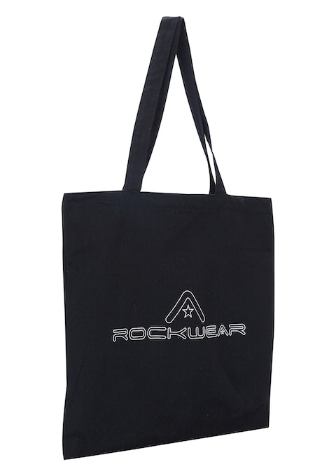 Black Canvas Tote Bag