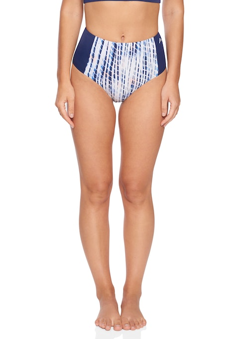 Ripple High Waist Swim Brief