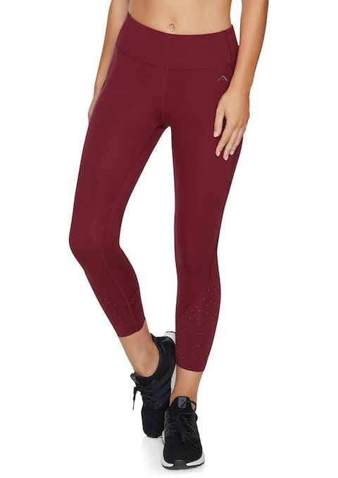 Merlot Mesh Ultra High Ankle Grazer Tights