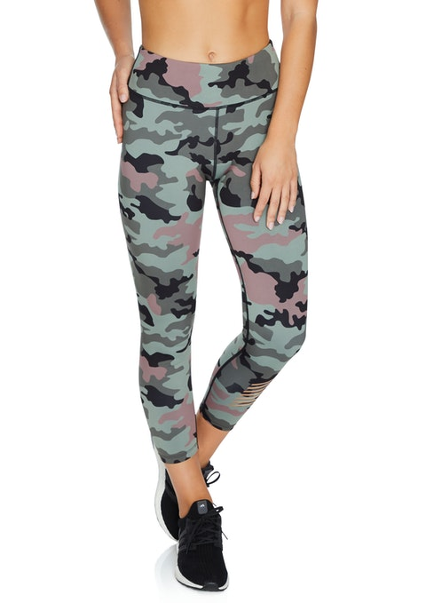 Female Force Force Print Ankle Grazer Tights