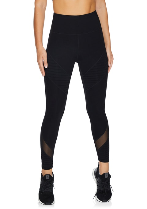 Black Supplex® Force Full Length Tights