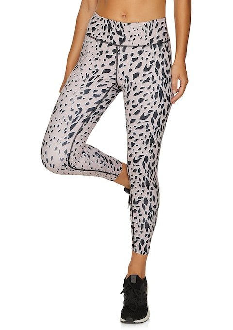 Rose Leopard Ag Rose Leopard Animal Print Tight