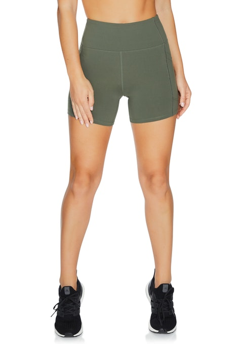 Military Mid Thigh Pocket Tight