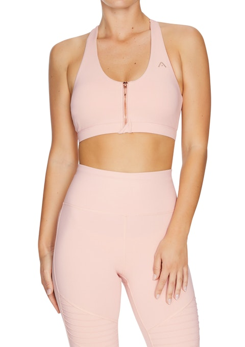 Lipstick Force Mi Zip Sports Bra