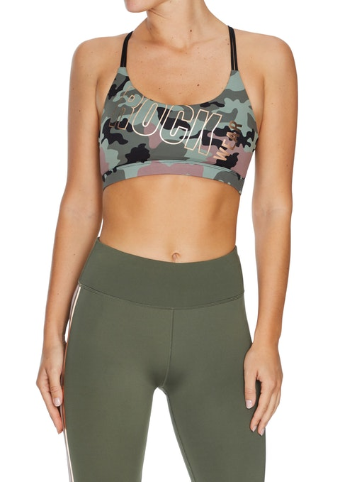 Female Force Force Low Impact Print Sports Bra
