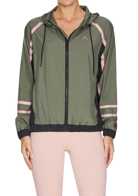 Military Casual Blocked Shell Jacket