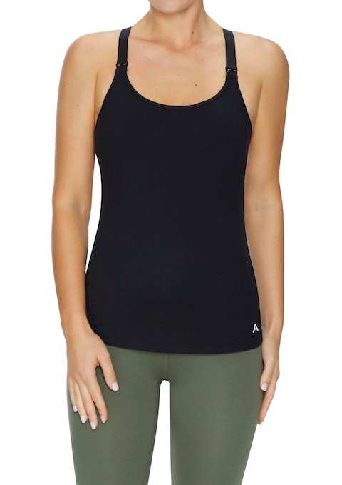 Black Maternity Nursing Casual Singlet