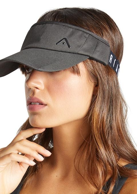 Grey Logo Visor Hat