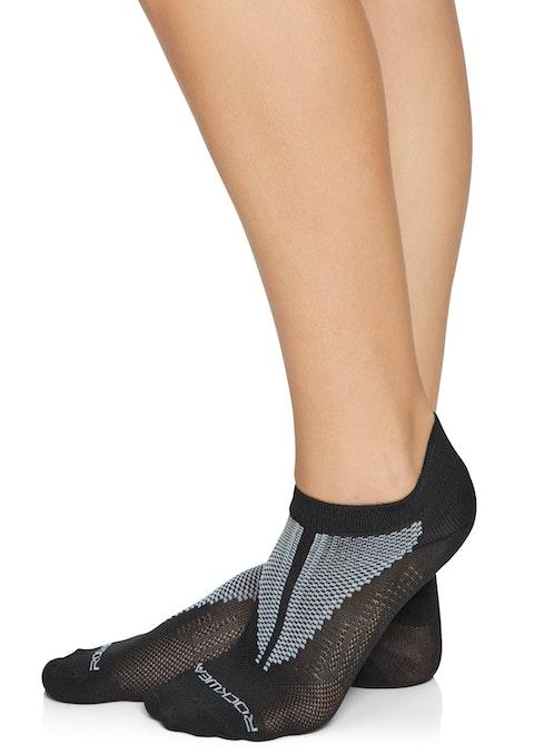 Black Lightweight Training Socks