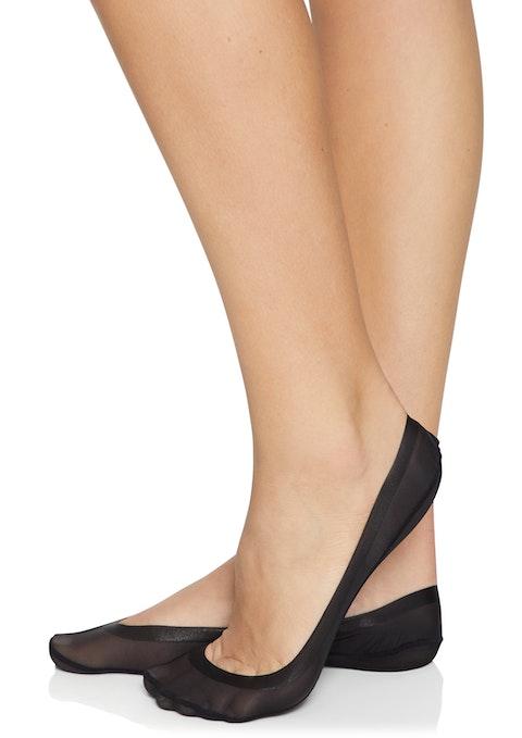Black Ultra Low Cut No Show Socks