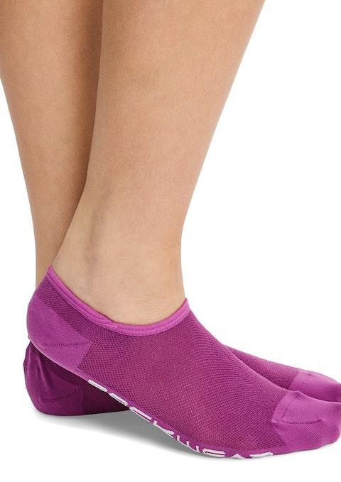 Cranberry Ankle Cut No Show Socks