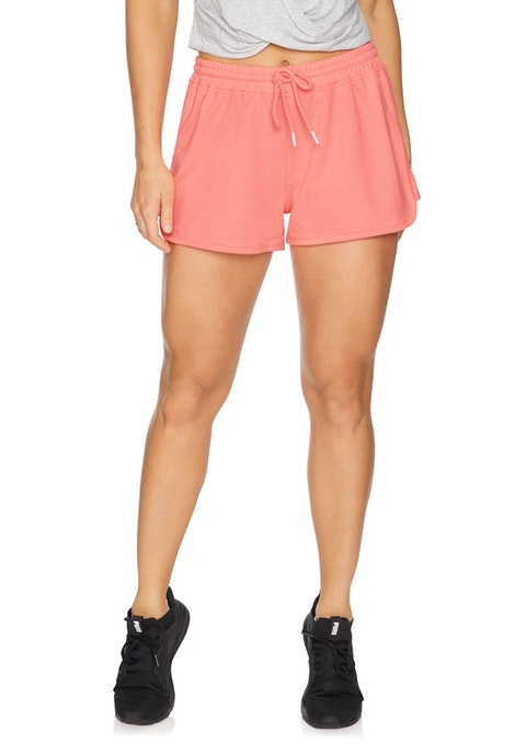 Flamingo Casual Knit Logo Short