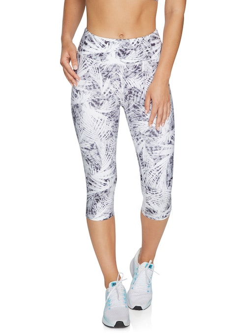 Mono Flora Cool Touch Print 3/4 Tights