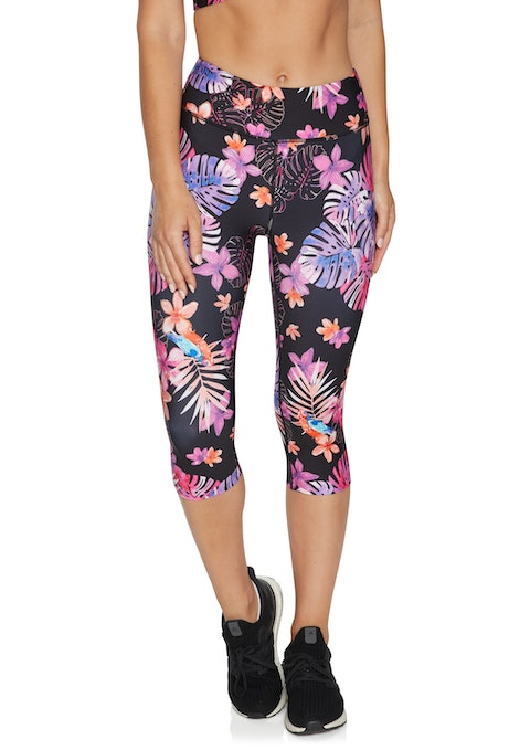 Rozella Cool Touch Print 3/4 Tights
